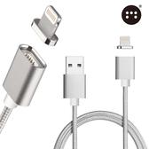 □Moizen㊣ 金屬接頭 磁吸充電線 傳輸線□ APPLE iPhone5 iPhone 5S 5C iPod Touch5 Touch6 nano7 磁力充電線