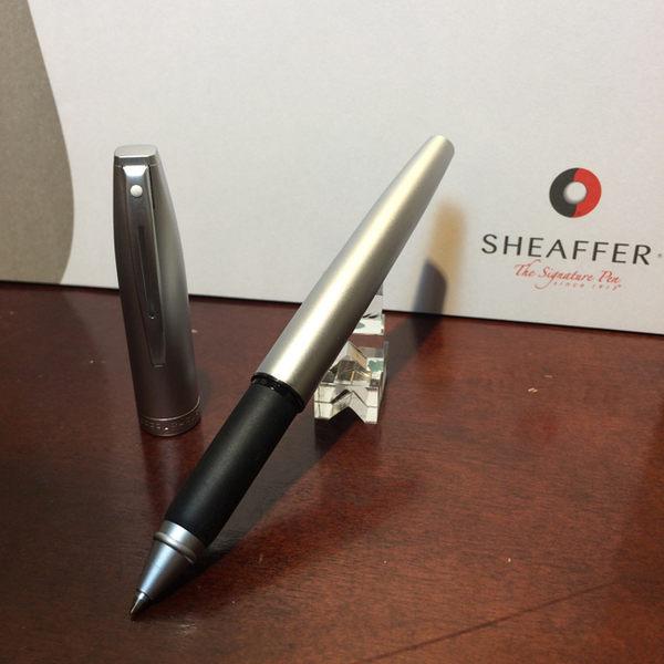 西華SHEAFFER SF-124RB 捷銳系列 鋼珠筆 - 銀桿