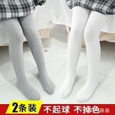 女童連體褲女童連褲襪春秋薄款兒童絲襪小女孩打底褲純棉女寶寶連體襪子中厚快速出貨