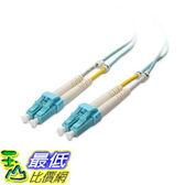 [107美國直購] Cable Matters 10Gb 40Gb Multimode Duplex 50/125 OFNP Fiber Cable (OM4 Fiber Optic Cable 2m