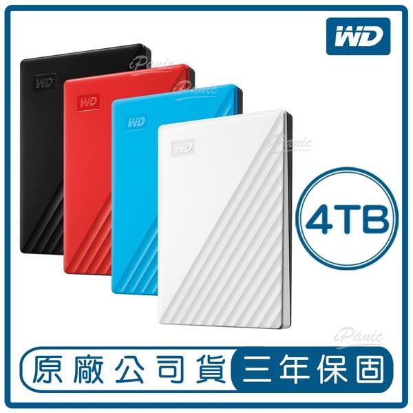 WD My Passport 4TB 2.5吋 行動硬碟 隨身硬碟 外接式硬碟 原廠公司貨