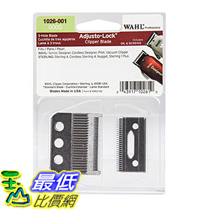 [107美國直購] Wahl Professional 0000 Adjusto-Lock 3 Hole Clipper Blade #1026-001 B0019X1FXS