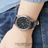 Valentino范倫鐵諾 經典格紋數字真皮手錶腕錶 情人對錶【NE1088】原廠公司貨 單支