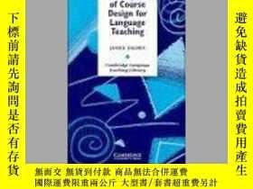 二手書博民逛書店Principles罕見Of Course Design For Language TeachingY2562