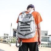學生後背包男旅行背包潮牌時尚潮流單肩包運動斜背包校園BF風書包 新品特賣