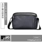 FX CREATIONS 側背包 WED系列 橫式側背包 休閒側背包 黑色 WED69871-01 得意時袋