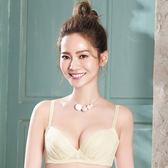 【華歌爾】莎薇 O感覺好感洞 D-E罩杯蕾絲機能型內衣(陽光黃)