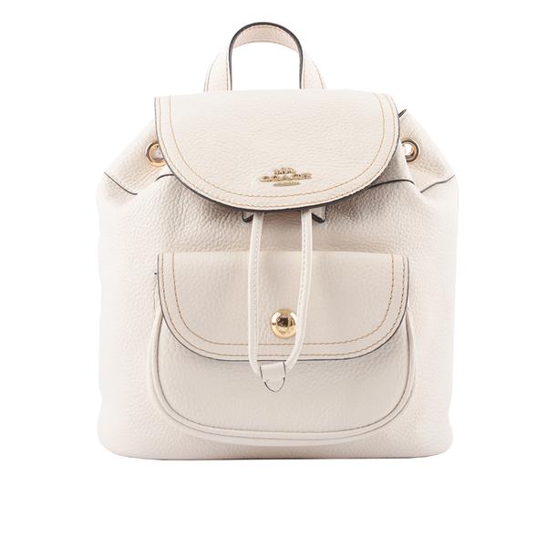 【COACH】Pennie 新款口袋後背包(白色) C4121 IMCHK