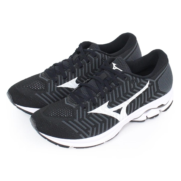 MIZUNO 男 RIDER 男慢跑鞋WAVEKNIT R1 美津濃 慢跑鞋- J1GC182402
