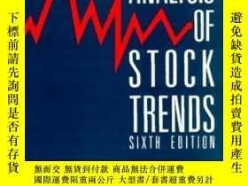 二手書博民逛書店Technical罕見Analysis Of Stock Tre