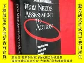 二手書博民逛書店From罕見Needs Assessment to Action