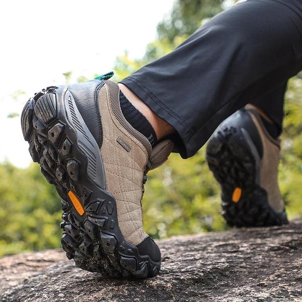 登山鞋男春夏新款減震徒步鞋女旅游爬山運動鞋防水防滑戶外鞋 童趣屋 618狂歡
