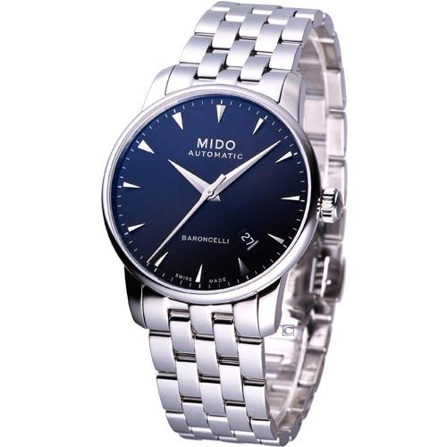 MIDO Baroncelli 經典男用機械腕錶 M86004181