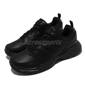 adidas 休閒鞋 Strutter 黑 全黑 愛迪達 男鞋 女鞋 復古 基本款 NEO 【ACS】 EG2656