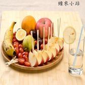 天竹一次性水果叉創意兒童甜品叉