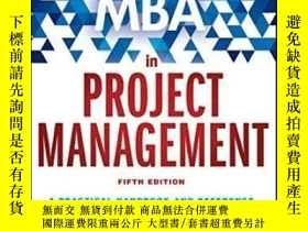 二手書博民逛書店The罕見Fast Forward Mba In Project ManagementY364682 Eric