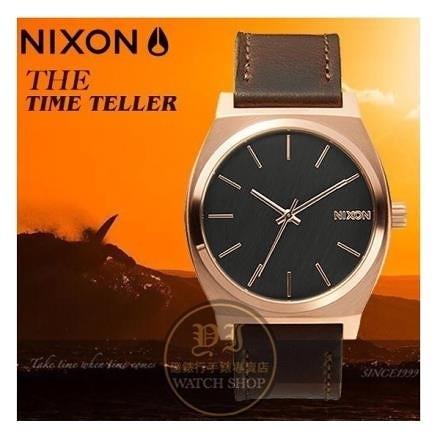 【南紡購物中心】NIXON實體店TIME TELLER潮流復古皮帶腕錶A045-2001公司貨