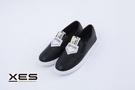 XES SLIP ON小黑鞋...