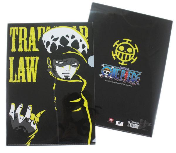 【卡漫城】 航海王 資料夾 四個一組 ㊣版 One Piece Luffy 魯夫 羅 海賊王 台灣製 檔案夾 文件夾