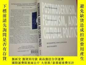 二手書博民逛書店postmodernism,罕見feminism, and cu