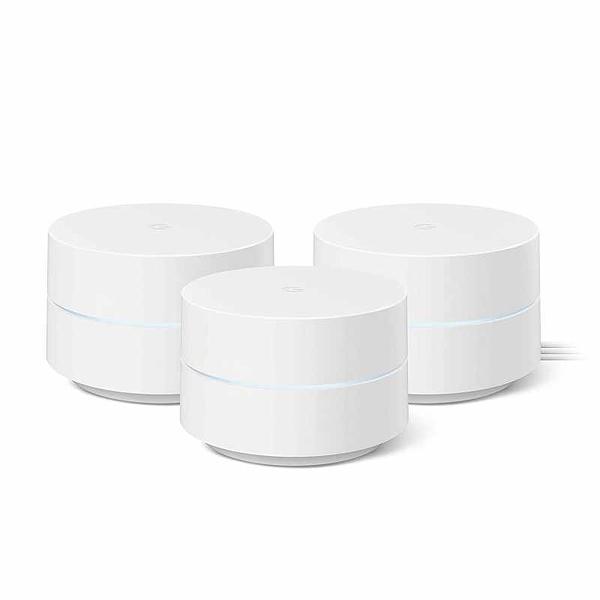 (2美國直寄) Google Wifi - Mesh Wifi System - Wifi Router Replacement - 3 Pack