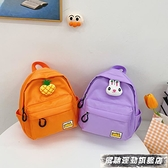 兒童包 幼兒園書包寶寶帆布輕便小背包女孩可愛水果後背包2021年新款兒童 風馳