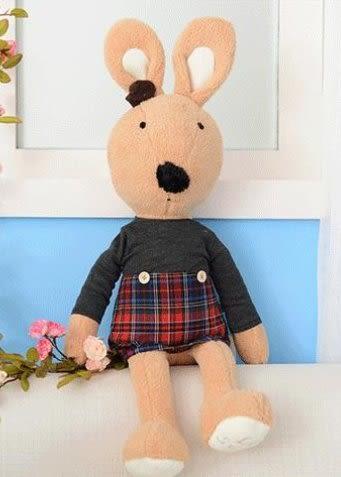 娃娃屋樂園~Le Sucre法國兔砂糖兔(英格蘭裙款)30cm250元另有45cm60cm