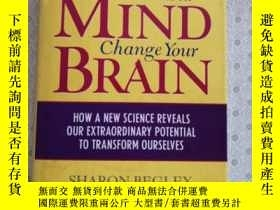 二手書博民逛書店Train罕見Your Mind , Change Your Brain Sharon BegleyY6789