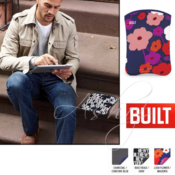 【A Shop】新品上市BUILT NY Slim Neoprene Sleeve iPad4/iPadAir 防塵防震內袋 -新品A-SSD2系列二色