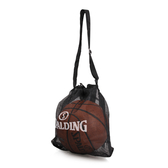 SPALDING斯伯丁單顆籃球束口袋球網 籃球球袋 籃球收納袋 SPB5330N11【樂買網】
