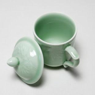 龍泉青瓷 梅蘭竹菊茶杯