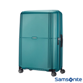 Samsonite新秀麗 30吋Orfeo 簡約方正線條PC嵌入式TSA海關鎖行李箱(湖水藍)