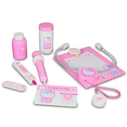 Hello Kitty凱蒂貓木製醫護組/ Hello Kitty Doctor Set/ 凱蒂貓/ 扮家家酒/ 伯寶行