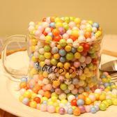 尾牙年貨節禮品盒裝飾彩球禮物裝飾彩色泡沫球禮物盒填充物拍攝道具布景配件gogo購