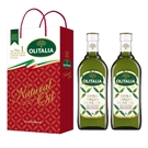 【Olitalia奧利塔】特級冷壓橄欖油2入禮盒組1000ml