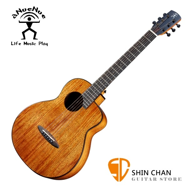 aNueNue M32 限量 夏威夷相思木 36吋小吉他 全相思木/ 面單板 附多樣配件