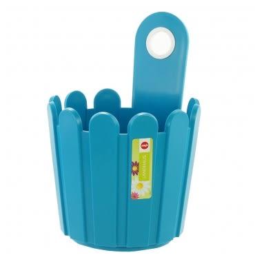 LANDHAUS 可吊式圓型花槽-藍