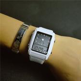 一件8折免運 兒童錶正韓簡約電子錶防水運動學生女錶初中女生手錶兒童手錶男孩方形潮