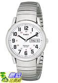 [105美國直購] Timex Easy 手錶 Reader Day-Date Expansion Band Watch
