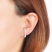 itam 日本製 珍珠樂園耳掛/鉤形耳環(銀) (HE003B)