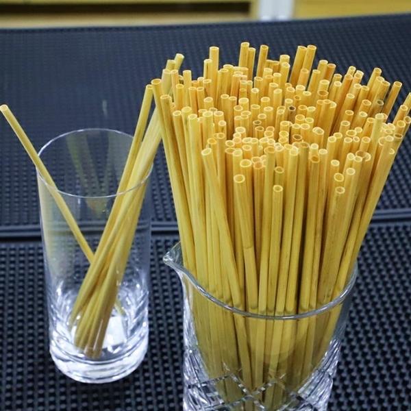 酒吧器皿麥稈 麥穗吸管 環保無菌 雞尾酒吸管 Wheat Straws