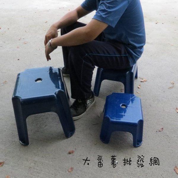 【台灣製】彩晶椅_特大/塑膠椅 [32-2] - 大番薯批發網