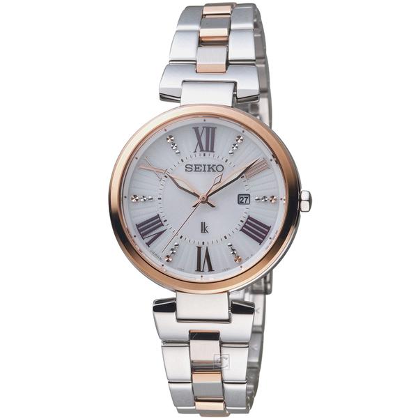 SEIKO精工LUKIA繽紛光彩太陽能腕錶   V137-0CW0KS  SUT332J1