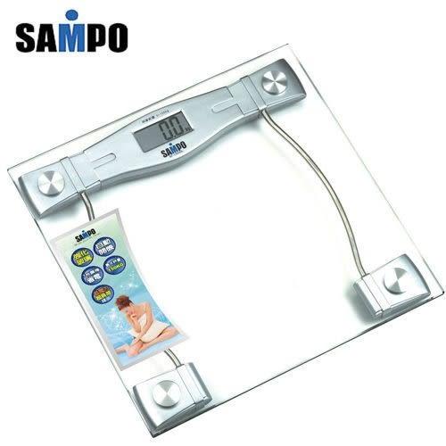 SAMPO聲寶造型電子體重計 BF-L904ML