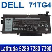 DELL 71TG4 4芯 原廠電池 內置電池 Latitude 5289 7280 7390 11.4V 45wh