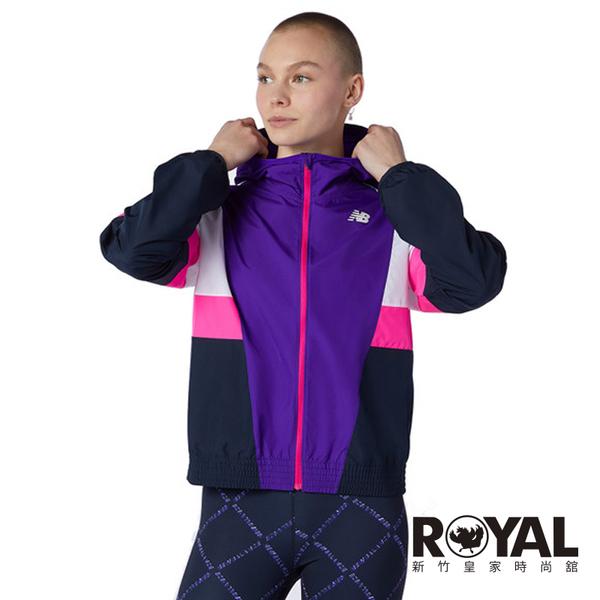 New Balance F FLT Jacket 紫色 防風 防潑水 外套 女款 NO.H3603【新竹皇家 WJ13231 DV】