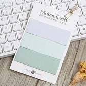 【BlueCat】莫蘭迪灰調系列便利貼 N次貼 便條紙
