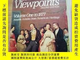 二手書博民逛書店HISTORICAL罕見VIEWPOINTS SECOND EDITION VOLUME ONE TO 1877