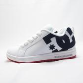DC COURT GRAFFIK 休閒鞋 滑板鞋 大童/ 女款 100207XWBR 黑X紅【iSport愛運動】