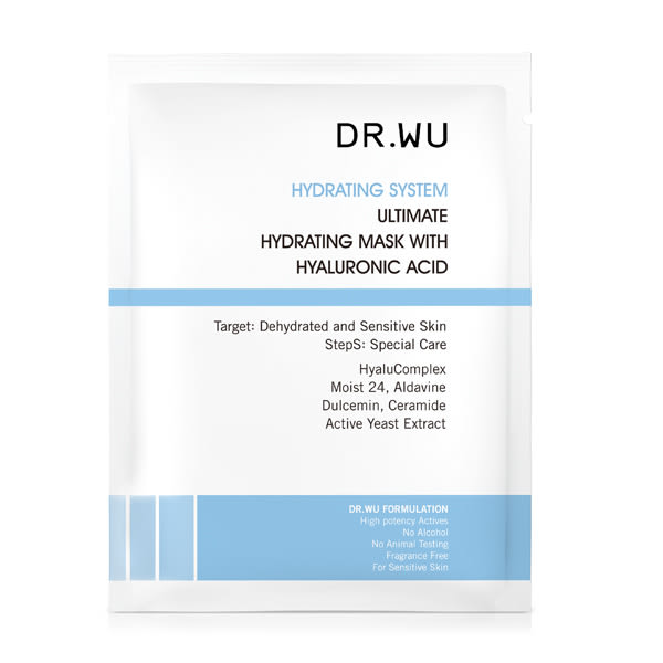 DR.WU 玻尿酸保濕微導面膜3片【康是美】